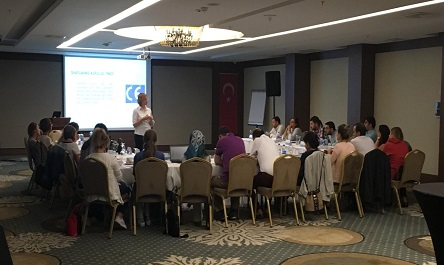 Training at Turkish Medicines and Medical Devices Agency (TMMDA)